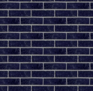 Dark Blue Bricks Wall Seamless Background Texture