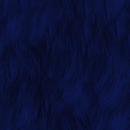 Dark Blue Faux Fur Seamless Background Texture Pattern Background Or