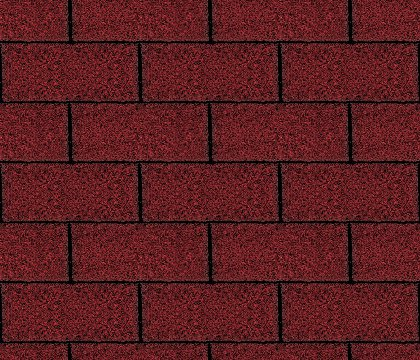 Dark Red Asphalt Shingles Seamless Background Texture