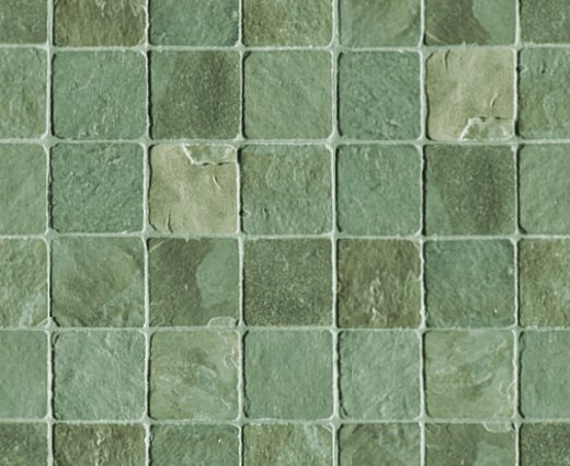 Green Stone Tile Background Seamless Background Or