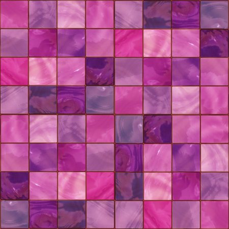 Magenta Glass Tile Background Seamless Background Or