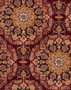 Oriental Rug Red Seamless Carpet Background Tileable