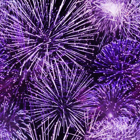 Purple Fireworks Background Texture Seamless Background Or