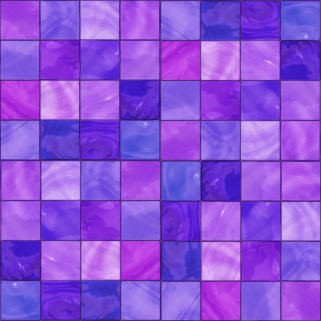 Purple Glass Tile Background Seamless Background Or