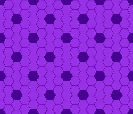 Purple Hexagon Tile Seamless Background Pattern
