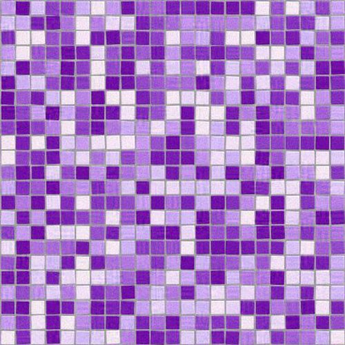 Purple Seamless Mosaic Tile Background Texture Background